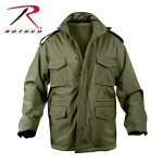 Rothco 5744 5744 Rothco Soft Shell Tactical M-65 Jacket - Od
