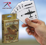 Rothco 577 Wwii Spotter Playing Cards ''ce''