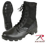 Rothco 5781 Rothco GI Type Steel Toe Jungle Boot - Black