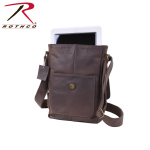 Rothco 57950 Rothco Brown Leather Military Tech Bag