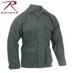 Rothco 5853 5853 5852 Rothco Olive Drab Cotton Rip-Stop B.D.U. Shirts