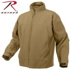Rothco 5863 5863 Rothco Covert Ops Lt Wt Soft Shell Jkt-Coyote