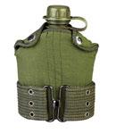 Rothco 588 GI Style Plastic Canteen & Pistol Belt Kit