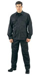 Rothco 5923 5923 5923 Rothco Black B.D.U. Pants, 100% Cotton Rip-Stop