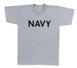 Rothco 60010 Rothco P/T T-Shirt - Navy / Grey