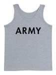 Rothco 60080 60080 Rothco P/T Tank Top - Army / Grey