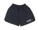 Rothco 6022 6022 Rothco Physical Training Army Shorts - Black