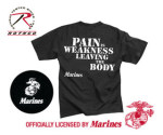 Rothco 60419 60419 Marines ''pain Is Weakness'' T-Shirt