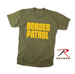 Rothco 60468 60468 Rothco 2-Sided T-Shirt / Border Patrol - Od