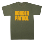 Rothco 60469 60469 Rothco 2-Sided T-Shirt / Border Patrol - Od