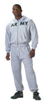 Rothco 6083 GI Type Physical Training Zipper Sweatshirt