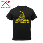 Rothco 61062 61062 Rothco T-Shirt / Don't Tread On Me -Blackl