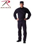 Rothco 6111 6111 Rothco 2-Pocket Navy Blue Tactical B.D.U. Shirt