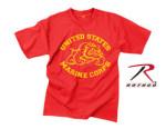 Rothco 61164 61164 Rothco Vintage Red U.S. Marine Bulldog T-Shirt