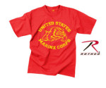 Rothco 61165 61165 Rothco Vintage Red U.S. Marine Bulldog T-Shirt