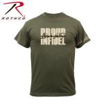 Rothco 61362 61362 Rothco Proud Infidel T-Shirt - Olive Drab