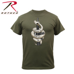 Rothco 61561 61561 Rothco Come And Take It T-Shirt - Olive Drab