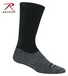 Rothco 6176 Wigwam Black Coolmax Hiker Socks - Pair