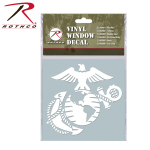 Rothco 62003 Rothco White Vinyl Window Decal - Marine G & A