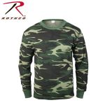 Rothco 6201 6201 Rothco Thermal Top - Woodland Camo