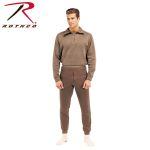 Rothco 6214 6250 GI Brown Extreme Cold Weather Polypropylene Underwear Tops