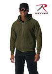 Rothco 6260 6260 Rothco Thermal Lined Zipper Hooded Sweatshirt