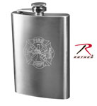 Rothco 632 Fire Department Engraved Flask