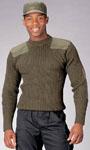 Rothco 6348 Rothco Wool Commando Sweater - Olive Drab