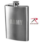 Rothco 634 Army Engraved Flask