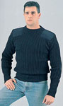 Rothco 6360 Gov't Navy Blue Wool Commando Sweater