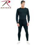 Rothco 63645 63645 63642 Rothco Thermal Underwear Bottom - Black