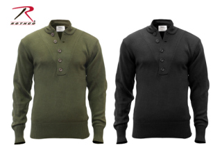 Rothco 6368 6368 Rothco 5-Button Acrylic Sweater