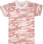 Rothco 6397 Kids Baby Pink Camo T-Shirt