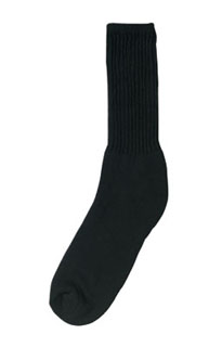 Rothco 6429 Black Athletic Crew Socks