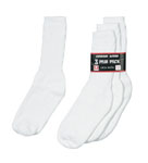 Rothco 6439 White Athletic Crew Socks