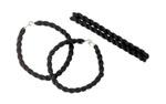 Rothco 6498 Black Elastic Blousing Garters