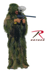 Rothco 65133 Bushrag Kids Ultralight Ghillie Suit - Woodland