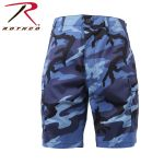 Rothco 65219 65219 65218 Rothco BDU Short Poly/Cotton - Sky Blue Camo