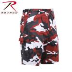 Rothco 65222 65222 Rothco Bdu Short Red Camo P/C