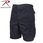 Rothco 65231 65231 65230 Rothco BDU Short Poly/Cotton - Midnight Blue