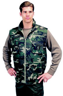 Rothco 6555 6555 Rothco &Trade; Camouflage Ranger Vest