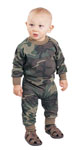 Rothco 6565 6565 Infant Woodland Camo Long Sleeve T-Shirt