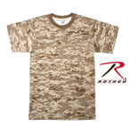 Rothco 6578 Boy's Desert Digital T-Shirt