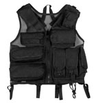 Rothco 6582 Rothco Black Tactical S.W.A.T. Vest