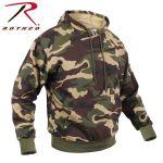 Rothco 6591 6591 Rothco Pullover Hooded Sweatshirt - Woodland Camo