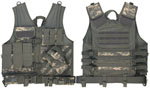 Rothco 6598 Army Digital Camo Cross Draw Tactical Vest