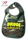 Rothco 66048 Rothco Infant Bib / Drool Sgt - Woodland Camo