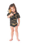 Rothco 66055 Infant Woodland Camo One Piece Bodysuit