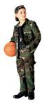 Rothco 66102 66102 Rothco Boys 4 Pocket B.D.U. Shirt - Woodland Camo
