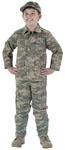 Rothco 66210 Rothco Kids Military BDU Shirt - ACU Digital Camo